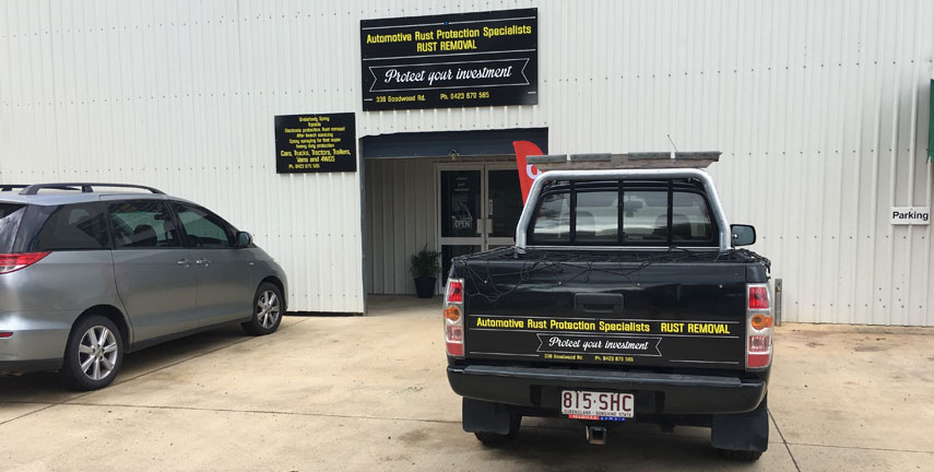 Rust Removal Hervey Bay, Rust Protection QLD, Automotive Services Bundaberg, Mechanical Services Maryborough